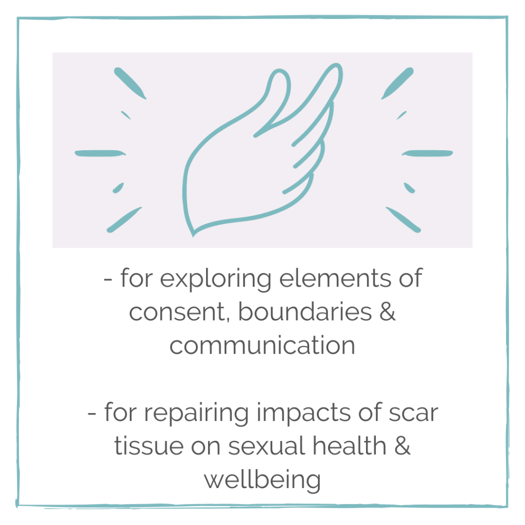 consent and boundaries, scar tissue, sexual wellbeing
